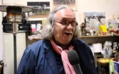 Prato: è morto l'artista Franco Casaglieri, amico di Roberto Benigni e Carlo Monni