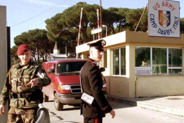 L'ingresso di Camp Darby