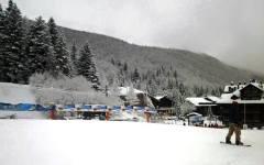 Maltempo all'Abetone: tempesta di vento, frana e danni agli impianti da sci