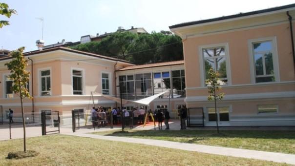 Una struttura dell'ex ospedale Meyer di via Buonvicini a Firenze