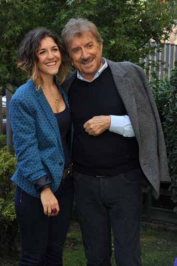 Gigi Proietti e la figlia Carlotta