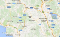 Terremoto: scossa di magnitudo 2,2 in provincia di Siena
