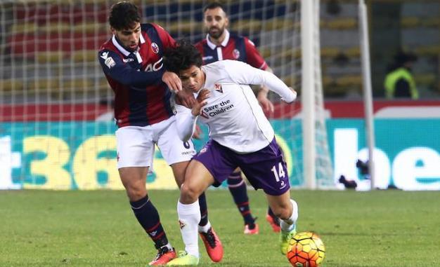 Mati Fernandez (qui contro il Bologna) rischia un lungo stop
