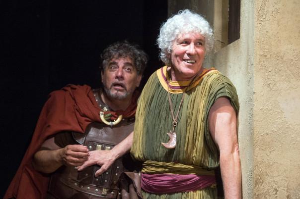 Ninetto Davoli e in «Il vantone» di Pasolini