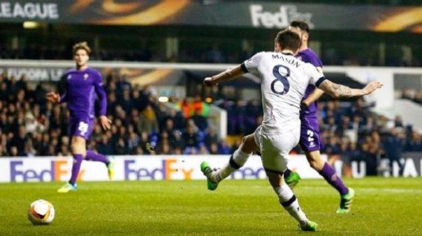Tottenham-Fiorentina, inglesi superiori e meritatamente vincenti (foto Twitter - @stop_and_goal)