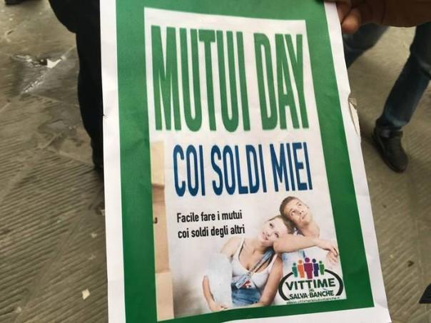 Protesta Arezzo ex obbligazioni Etruria per Mutui day
