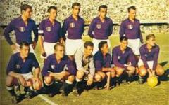 Fiorentina: 60 anni fa (1955-56) il primo scudetto. Festa prima della partita con il Palermo