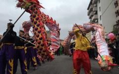 Pisa: Capodanno cinese. Arriva l'anno del Gallo. Corteo con il dragone
