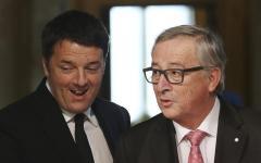 Renzi - juncker, scoppia la pace. Ma il report della Commissione Ue sull'Italia gela l'entusiasmo