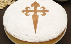 Torta di Santiago di Compostela