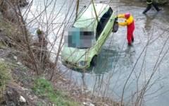 Sorano:  giovane di 27 anni muore nell'auto precipitata in un fosso