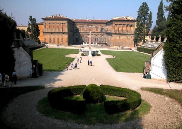roma 7/10/2002 Firenze veduta di Palazzo Pitti . capodanno