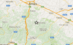 Terremoto: tre scosse fra Bologna e Firenze, magnitudo 2,6