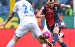 Empoli battuto anche a Genova (1-0). Il Genoa ringrazia Rigoni, autore del goal. Pagelle