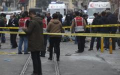 Istanbul : kamikaze si fa esplodere nel centro della città, almeno 5 morti e 19 feriti