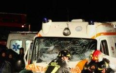 Pistoia: incidente all'ambulanza della Croce Verde con bambino a bordo. Cinque feriti