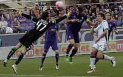 La Fiorentina vince e «rivede» il quarto posto: 3-1 al Sassuolo. Gol di Gonzalo e Ilicic. Clamoroso autogol di Consigli. Pagelle