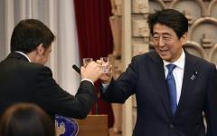 Firenze: il 2 maggio bilaterale italo-giapponese. Renzi incontra Shinzo Abe a Palazzo Vecchio