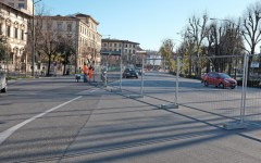 Firenze, tramvia: lunedì 18 dalle 21 il trasferimento del cantiere nel viale Strozzi