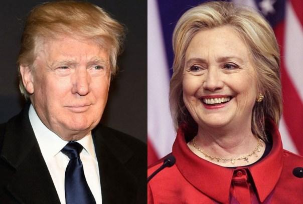Donald Trump e Hillary Clinton: sfida per la presidenza Usa