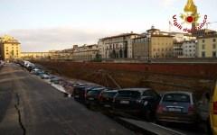 Firenze, voragine di 200m : manca l'acqua in Oltrarno e Campo di Marte, ridotta in tutta la città