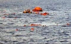 Un naufragio: immagine frequente in questo periodo nel Mediterraneo