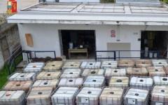 Prato: la Polstrada toscana neutralizza quattro ladri, rubavano gasolio dai depositi e lo rivendevano al mercato nero (video)