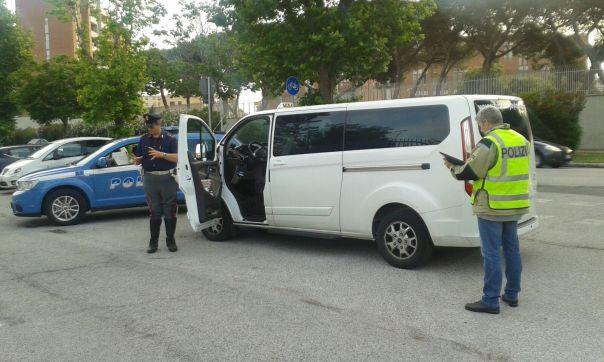PORTO DI LIVORNO POLIZIA STRADALE