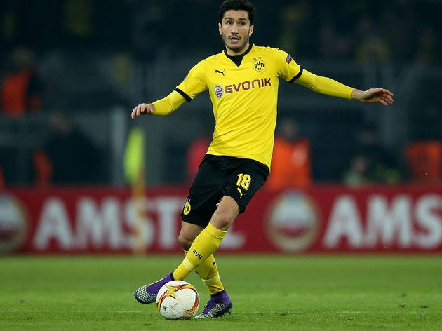 Sahin con la maglia del Borussia Dortmund