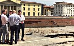 Firenze, Torrigiani: stasera finito il bypass e si progetta la messa in sicurezza del sottosuolo. L'annuncio del Sindaco Nardella