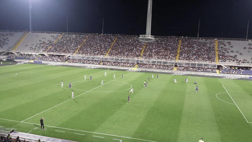 Fiorentina-Celta Vigo: per i viola solo una traversa di Zarate nel finale del primo tempo