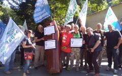 Vallombrosa, Corpo forestale dello Stato: contestazione dei sindacati alla festa del patrono