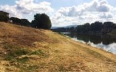 Arno: manutenzione del fiume da Pontassieve alle Signe. Saranno ripulite le sponde e controllati gli argini