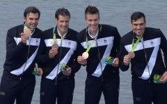 Olimpiadi Rio 2016: canottaggio, medaglia di bronzo dal 4 senza, e siamo a quota 13.