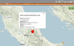 Terremoto: scosse (magnitudo 6.3, 3.8 e 4.8)  nell'Italia Centrale. Avvertite anche in Toscana. Paura nella notte
