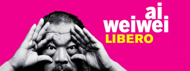 Ai wei Wei Libero, questo il manifesto della mostra di Palazzo Strozzi