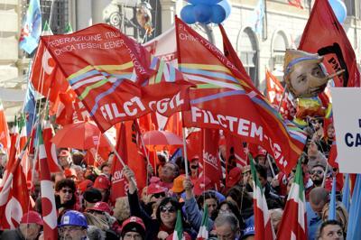 Sabato otto pullman della Cgil per la manifestazione a Roma