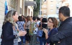 Siena, #la buona scuola: protestano gli insegnanti, arrivano i Carabinieri
