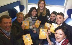Referendum: Boschi in treno con 600 toscani verso piazza del Popolo. Renzi: sopralluogo di notte