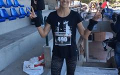 Firenze: in duemila alla corsa Inferno Run. Anche Rocio Rodriguez, moglie di Borja Valero
