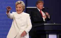 Presidenziali Usa: ultimo duello, vince Clinton, Trump teme elezioni truccate