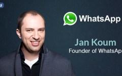 WhatsApp: Jan Koum, il fondatore, sarà a Firenze il 14 ottobre per 'il quotidiano in classe'