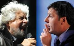 Consip: duello Grillo-Renzi sul blog. «Hai rottamato solo tuo padre». La replica: «Squallido sciacallo»