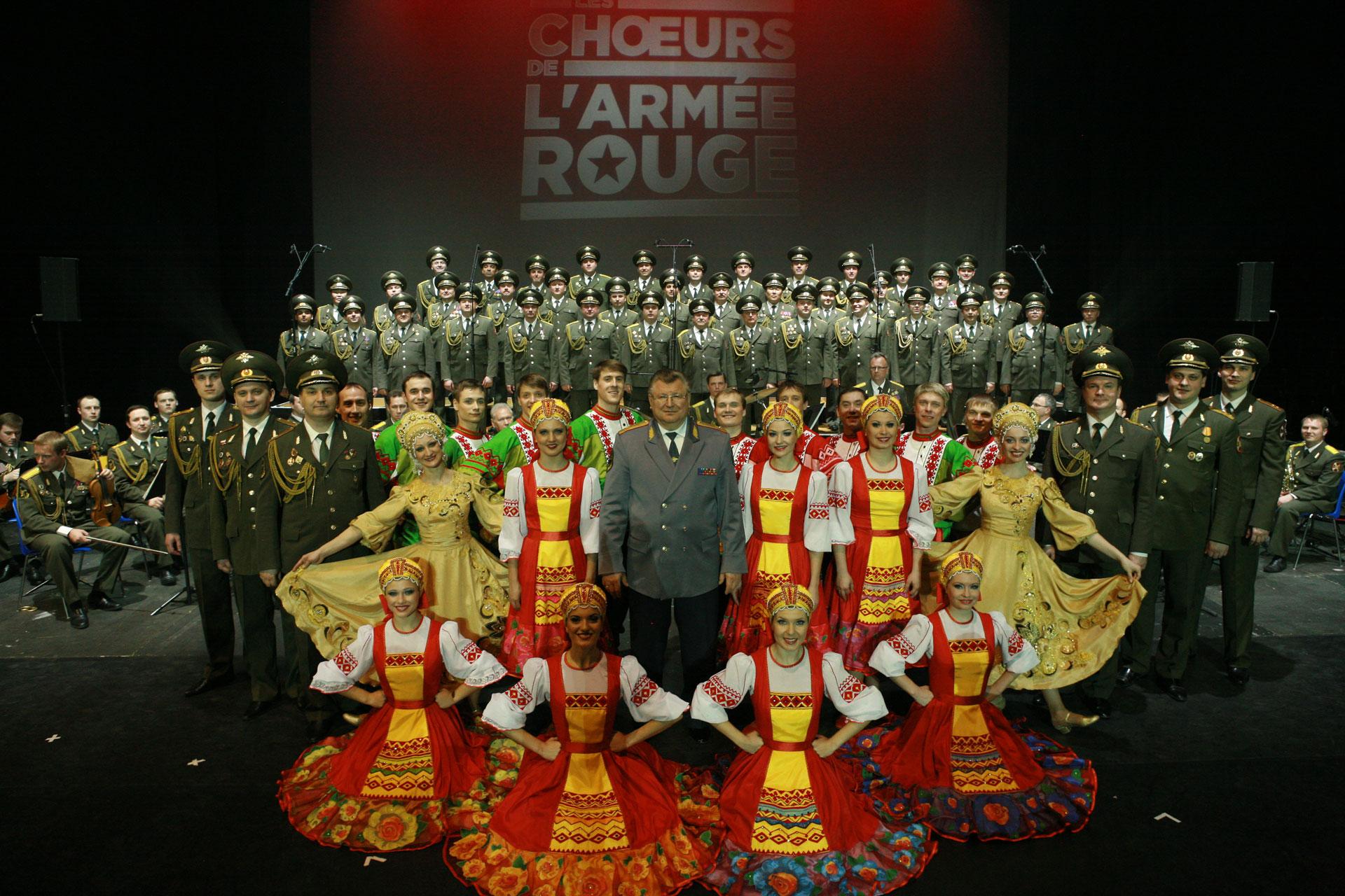 Armata Rossa, un Coro da 7000 spettacoli
