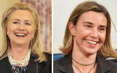 Trump presidente: le donne contro, Mogherini convoca ministri Ue e Hillary accusa Fbi