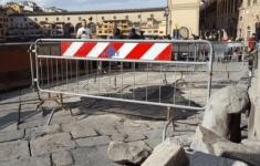 Firenze: lungarno Anna Maria Luisa dei Medici chiuso da lunedì 5 dicembre per lavori