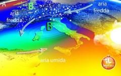 Meteo: dal 28 dicembre arriva il gelo. Ma dal 1 gennaio la temperatura risale