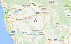 Terremoto: scossa di magnitudo 2,8 in Valdelsa. L'epicentro a Castelfiorentino