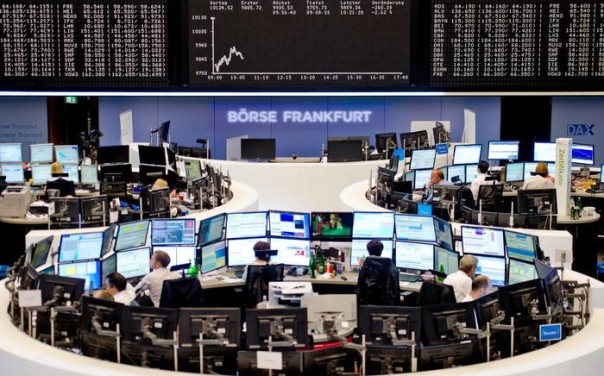 DAX falls to one-year low