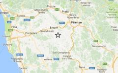 terremoto: scossa di magnitudo 2.2 in Val d'Elsa, l'epicentro a Castelfiorentino